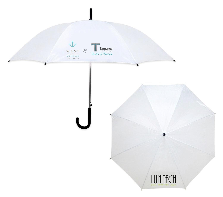 מטריה 23 אינץ ידית סבא ממותגת – לוניטק