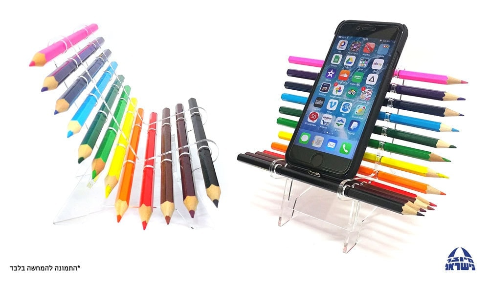 כסא עפרונות צבעוניים – לוניטק