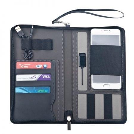 נרתיק מסמכים משולב מטען נייד2 – לוניטק