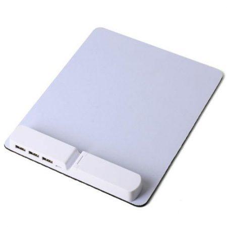 פד לעכבר משולב מפצל USB – לוניטק