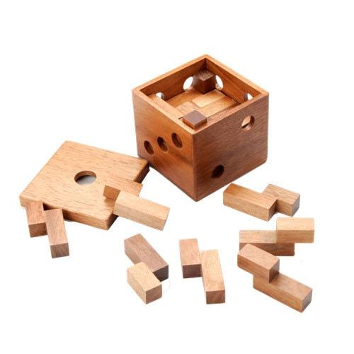 קוביית עץ להרכבה3 -לוניטק