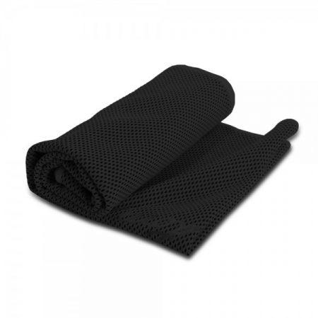 מגבת קירור שחור