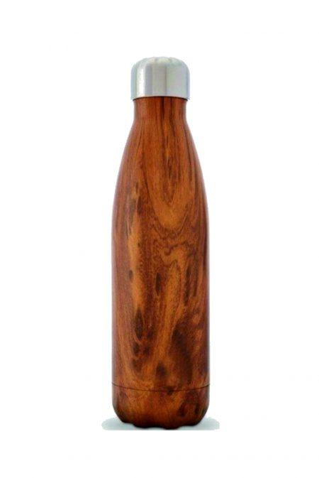 בקבוק טרמי עץ – לוניטק
