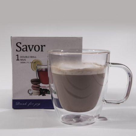 כוס קפוצינו- SAVOR