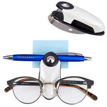 מחזיק משקפיים+ דף ממו ועט
