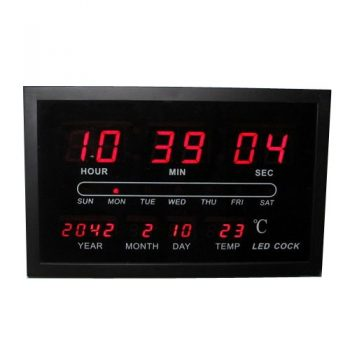 שעון קיר דיגיטלי 3403