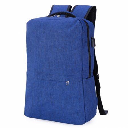 תיק גב למחשב נייד קלאס כחול (1)