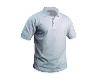 חולצה פולו גברים לבן