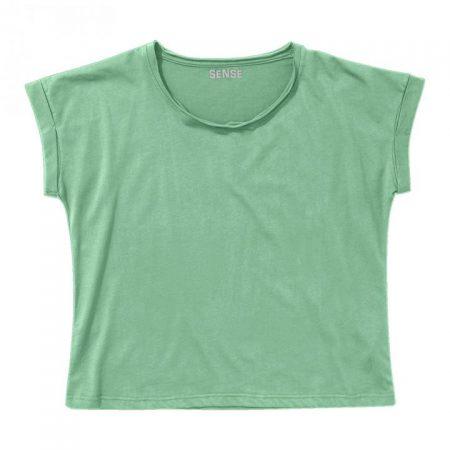 חולצת טריקו נשים עטלף ירוק