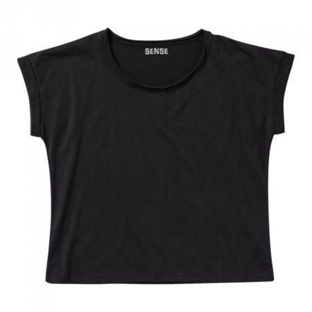 חולצת טריקו נשים עטלף שחור_97
