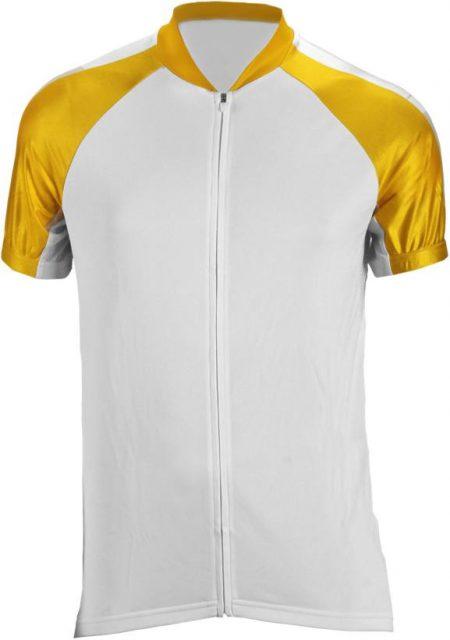 חולצת רכיבה מקצועית צהוב