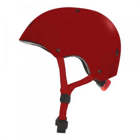 קסדה לקורקינט ואופניים חשמליים אדום צד