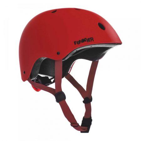 קסדה לקורקינט ואופניים חשמליים אדום