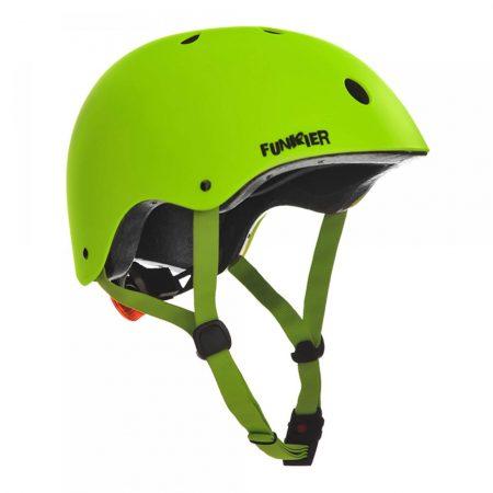 קסדה לקורקינט ואופניים חשמליים ירוק