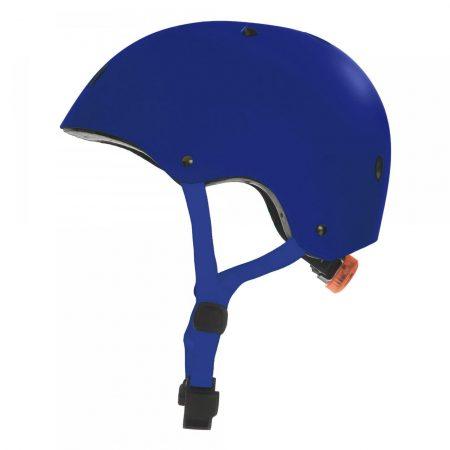 קסדה לקורקינט ואופניים חשמליים כחול צד