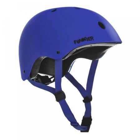 קסדה לקורקינט ואופניים חשמליים כחול