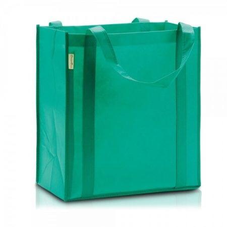 תיק אלבד לקניות ירוק