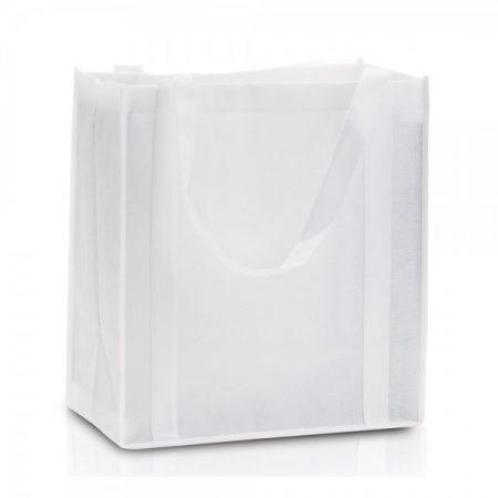 תיק אלבד לקניות לבן