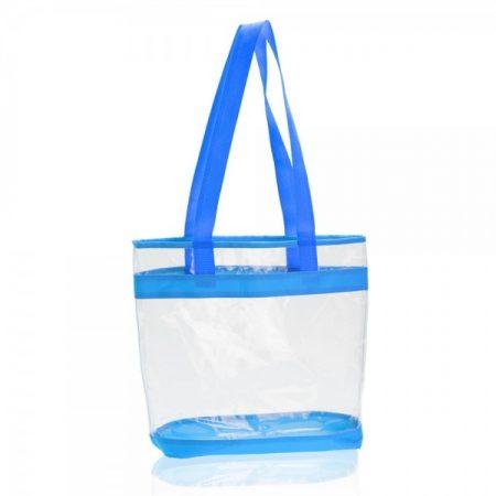 תיק ים קניות כחול