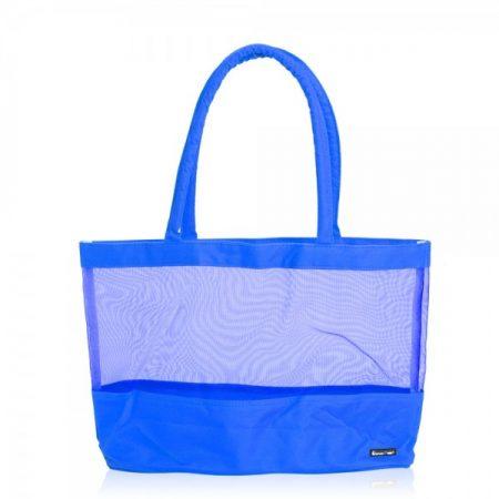 תיק ים רשת קניות כחול