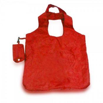 תיק צד לקניות אדום