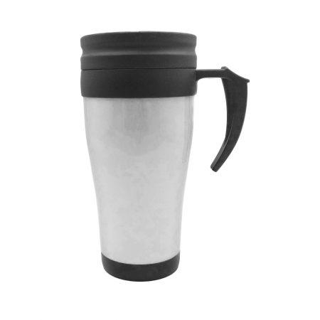כוס טרמית פלסטיק אפור