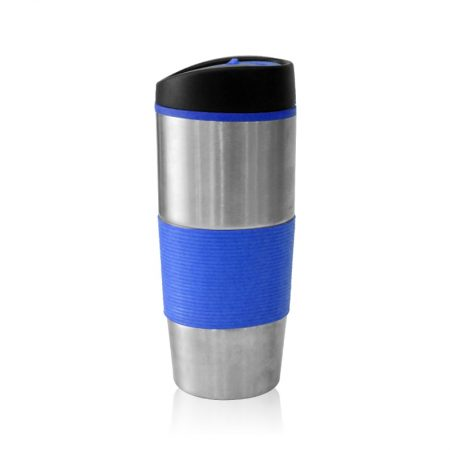 כוס טרמי נירוסטה כחול