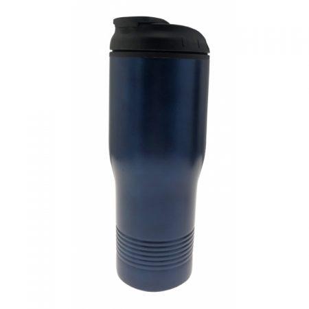 כוס תרמית קפסולה כחול