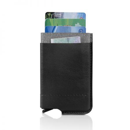 ארנק בטיחות פיננסי שחור
