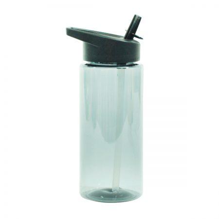 בקבוק ספורט פייה עם קש – מילר אפור