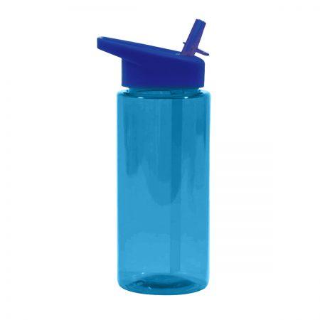 בקבוק ספורט פייה עם קש – מילר כחול