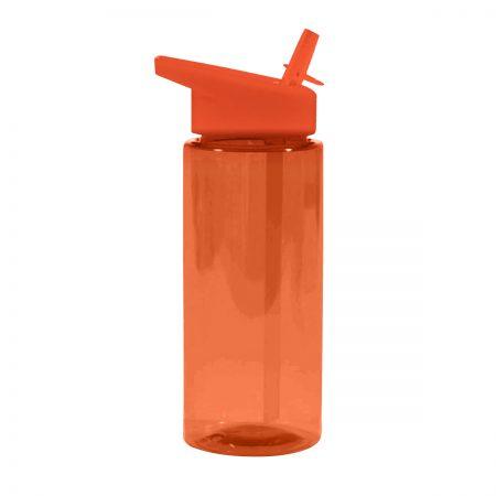 בקבוק ספורט פייה עם קש – מילר כתום