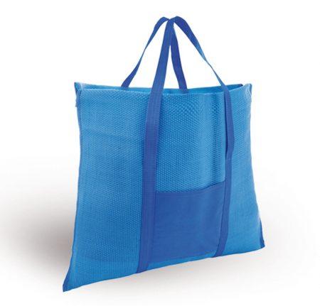 מחצלת תיק כחול
