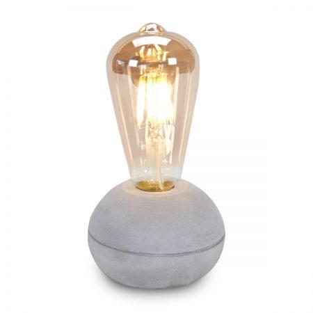 מנורה מעוצבת חימר עגול