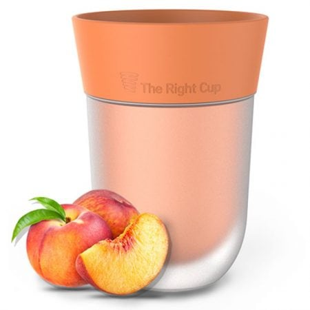 the-right-cup-peach-flavored